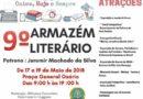 9º Armazém Literário inicia amanhã (17)