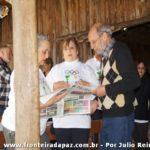 Churrasco na AABB em homenagem aos 50 anos do JIP. Aldo Carvalho e senhoras.