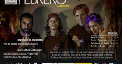 No dia 25 de setembro, entrada gratuita: Peça teatral 'Febrero' do Taller Teatro Independiente Riveramento