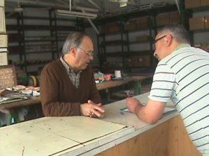 2011 - Nicola entrevista testemunha do fusca voador na Fronteira da Paz